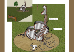 Rendering of the Boundy Memorial Sculpture