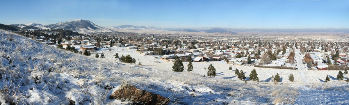 Image: City of Helena in Winter