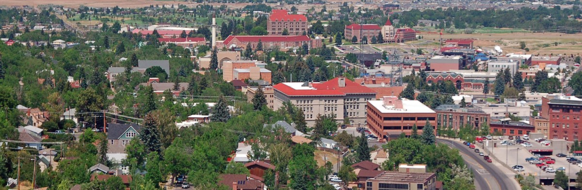 Image: Aerial View of Downtown Helena